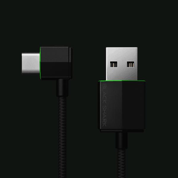 Cáp USB-C Góc Vuông Black Shark