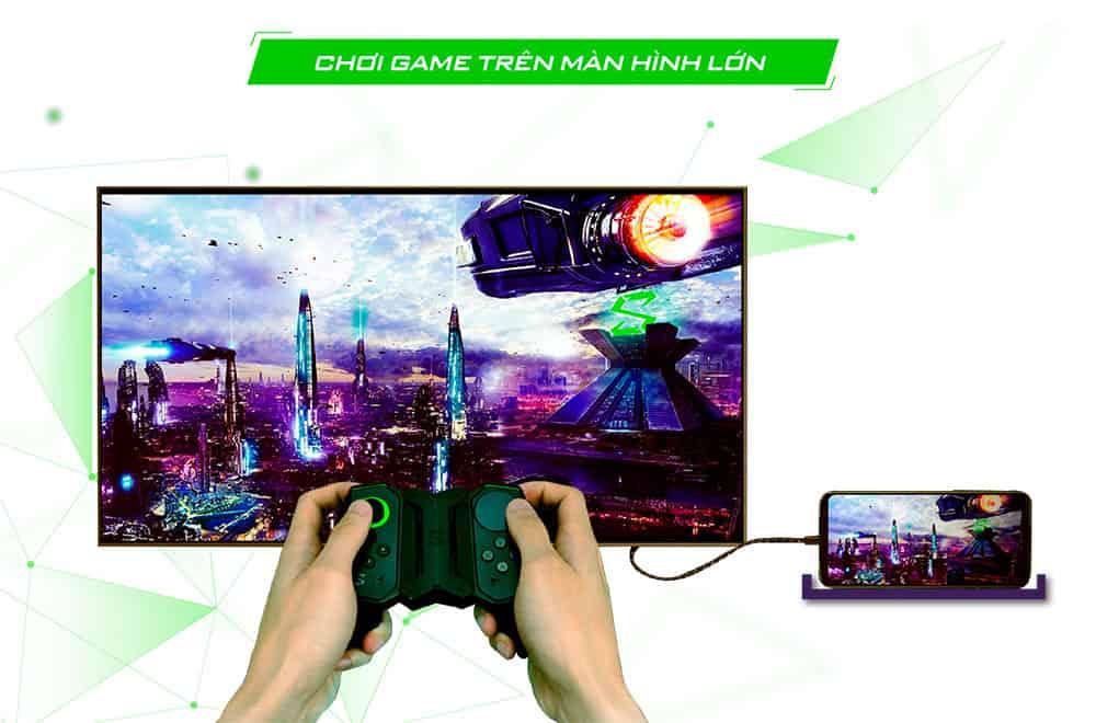 màn hình siêu lớn của Black Shark 2 12GB quốc tế