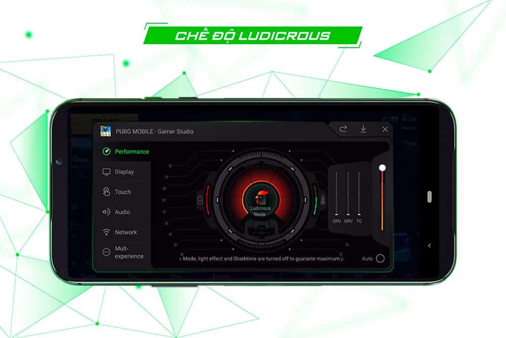 Hệ thống Ai Gaming hỗ trợ tối đa cho game thủ của Black Shark 2 12GB quốc tế