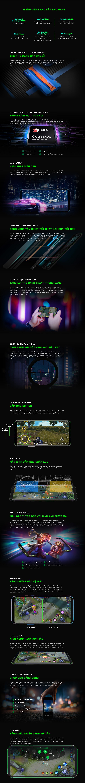Tính năng chi tiết Black Shark 2 Pro 8GB quốc tế