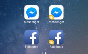 Cài đặt ứng dụng kép với các mạng xã hội