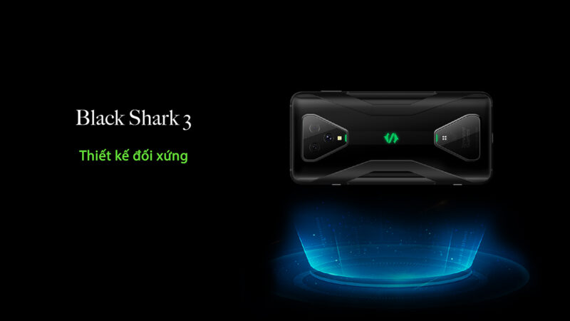 Black Shark 3 Pro 12GB 256GB Quốc tế - Giới thiệu sản phẩm trang 1