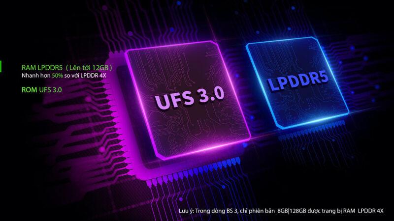 Black Shark 3 Pro 12GB 256GB Quốc tế - Giới thiệu sản phẩm trang 3