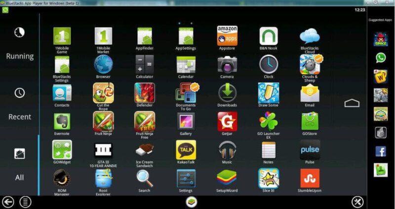 phần mềm giả lập androi dành cho window tốt nhất hiện nay