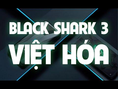 Hướng dẫn cài đặt Tiếng Việt cho Black Shark 3 & 3 Pro