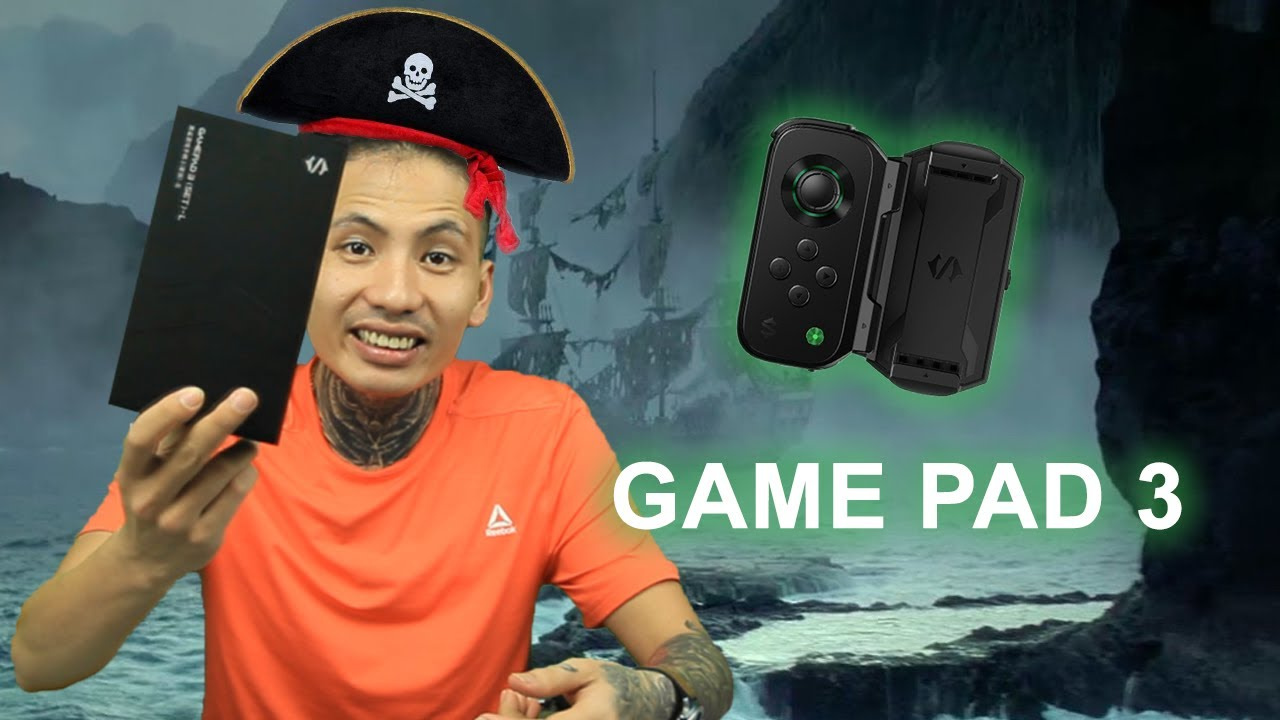 Đập hộp GAME PAD 3.0 Black Shark