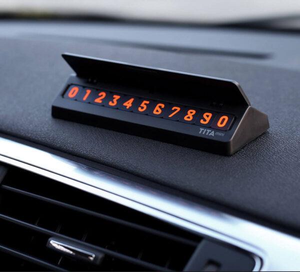Bảng số điện thoại cho ô tô bcase TITA mini