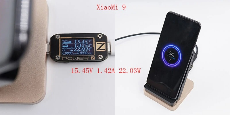 Đế sạc không dây 55W Xiaomi MDY-12-EN có tản nhiệt