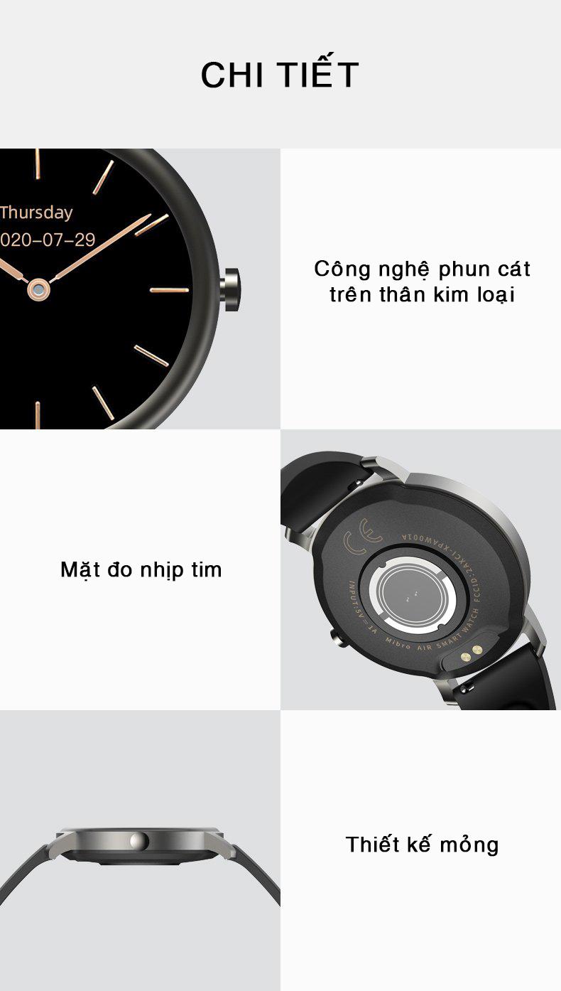 Đồng hồ thông minh Xiaomi Mibro Air