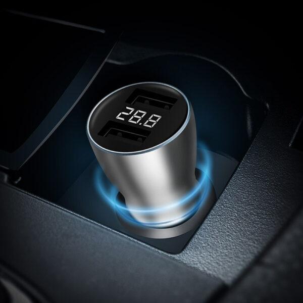 Sạc nhanh ô tô 2 USB ZMI AP621 (18W)