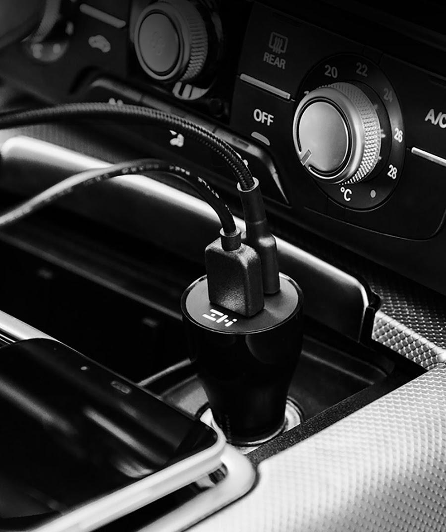 Sạc nhanh ô tô 45W ZMI AP721 (1A1C)