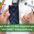 """Black Shark 4 là điện thoại chơi game """"DUY NHẤT"""" không bị bẻ cong - Ảnh đại diện"""