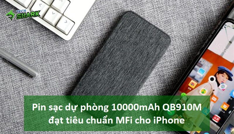 Dành riêng cho iPhone, pin sạc dự phòng 10000mAh ZMI QB910M 18W - Ảnh đại diện