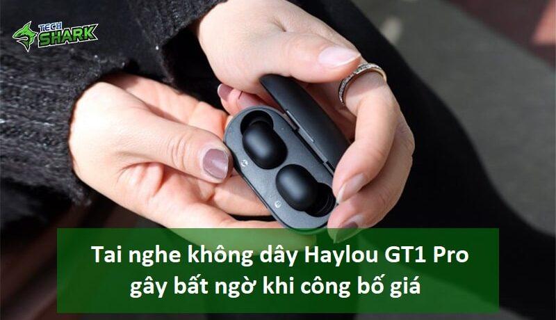 Tai nghe không dây Haylou GT1 Pro gây bất ngờ khi công bố giá rẻ hơn so với chất lượng - Ảnh đại diện