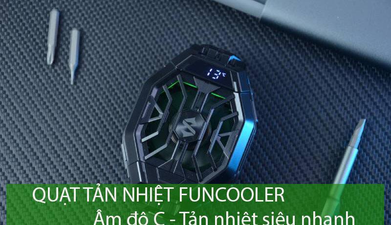 SỐC!!! Quạt tản nhiệt Funcooler 2 Pro siêu đặc biệt – Âm độ C, tản nhiệt siêu nhanh - Ảnh đại diện